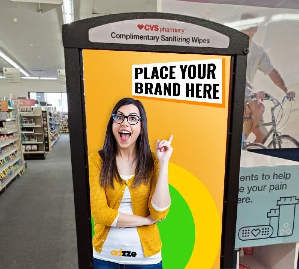 Branded Sanitizing Kiosks